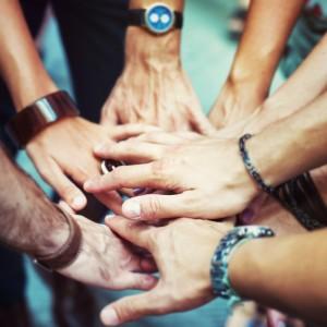 Hands over hands