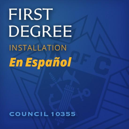 First Degree Installation - en Espanol Icon
