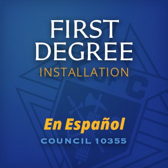 First Degree Installation - en Espanol Icon2