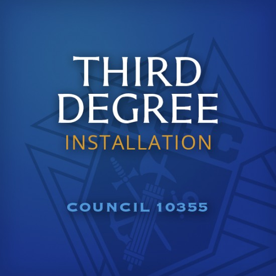 Third Degree Installation Icon